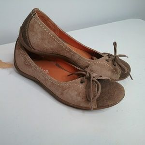 Merrell Brown Suede Slip On Shoes Size 7.5
